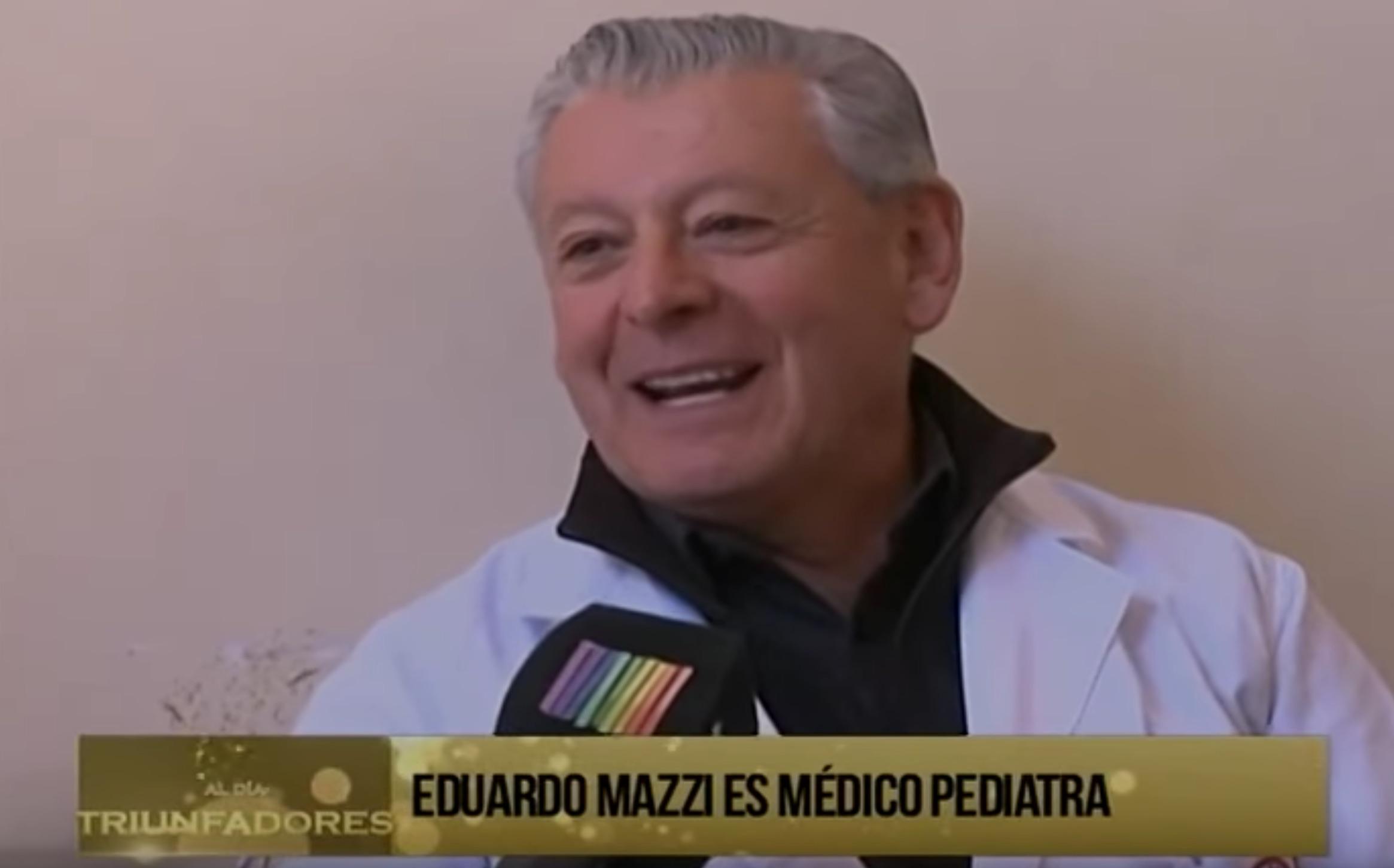 Dr. Eduardo Mazzi habla con Bolivisión